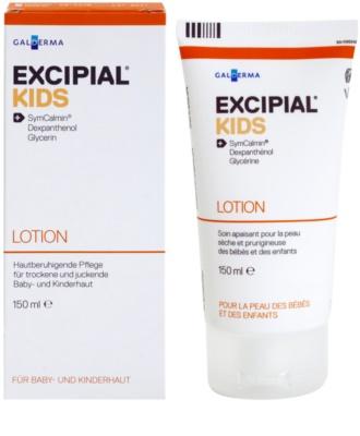 Excipial Kids hidratáló tej a száraz és érzékeny bőrre 1