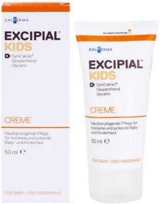 Excipial Kids creme apaziguador para pele seca e irritada 1