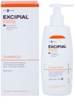 Excipial Kids champú para calmar el cuero cabelludo seco e irritado de los bebés y niños 1