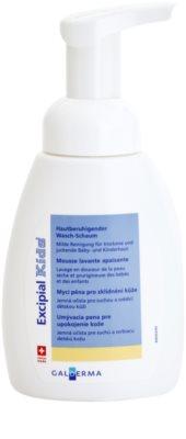 Excipial Kids espuma de limpeza para pele sensível e irritada 1