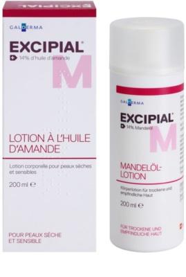 Excipial M Almond Oil Körpermilch für trockene und empfindliche Haut 1