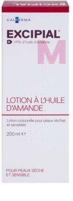 Excipial M Almond Oil tělové mléko pro suchou a citlivou pokožku 2