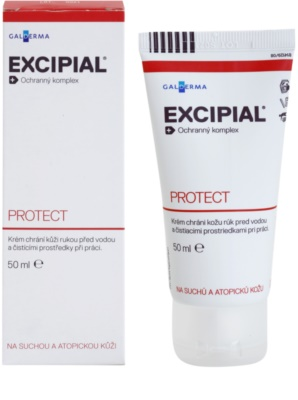Excipial R Protect crema de manos protectora para pieles secas 1
