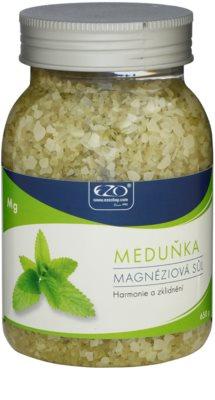 EZO Melissa Sare de baie cu magneziu pentru catifelare