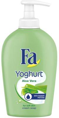 Fa Yoghurt Aloe Vera kremno milo z dozirno črpalko