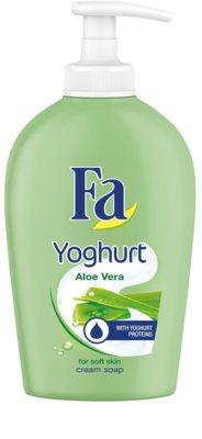 Fa Yoghurt Aloe Vera sabonete cremoso  com doseador