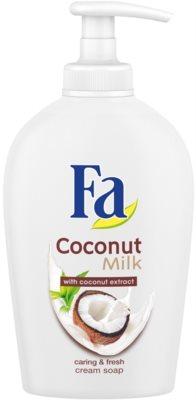 Fa Coconut Milk крем-мило з дозатором