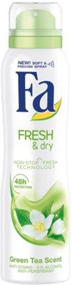 Fa Fresh & Dry Green Tea antiperspirant spray -ben
