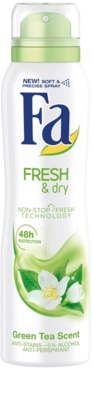 Fa Fresh & Dry Green Tea antitranspirantes em spray