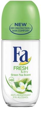 Fa Fresh & Dry Green Tea antyperspirant roll-on