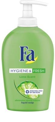 Fa Hygiene & Fresh Lime рідке мило з дозатором