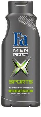 Fa Men Xtreme Sports gel za prhanje za telo in lase