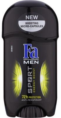 Fa Men Sport Energy Boost antyperspirant w sztyfcie