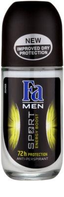 Fa Men Sport Energy Boost Antitranspirant Deoroller