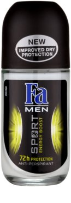 Fa Men Sport Energy Boost golyós izzadásgátló