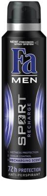 Fa Men Sport Recharge antitranspirantes em spray