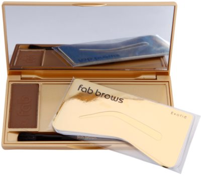 FAB Brows Kit perfekte Augenbrauen in wenigen Sekunden 1