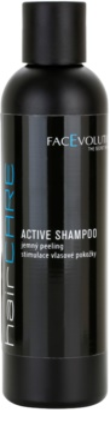 FacEvolution HairCare champô para promover o crescimento do cabelo e parar a queda