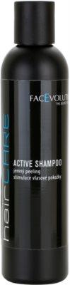 FacEvolution HairCare champú para estimular el crecimiento del cabello con acción anticaída