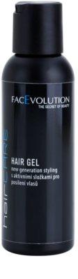 FacEvolution HairCare gel para dar definición al peinado con efecto regenerador