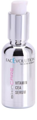 FacEvolution SkinCare terapia de vitamina luxuosa para uma pele mais jovem e mais radiante