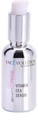 FacEvolution SkinCare tratamiento de vitamina lujoso para una piel más joven y radiante