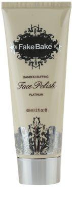 Fake Bake Face Polish cremă exfoliantă cu bambus fata