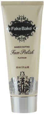 Fake Bake Face Polish crema exfoliante de bambú para el rostro
