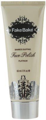 Fake Bake Face Polish peeling de bambu para rosto