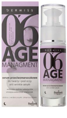 Farmona Dermiss Age Managment noční sérum proti vráskám na obličej a oční okolí 1