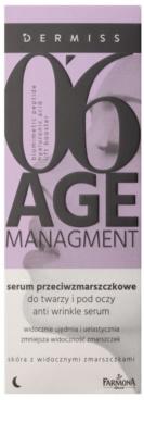 Farmona Dermiss Age Managment noční sérum proti vráskám na obličej a oční okolí 2