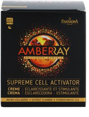 Farmona Amberray vyhladzujúci nočný krém 2