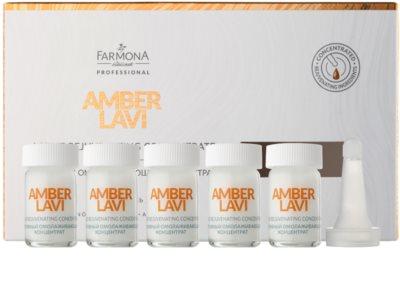 Farmona Amber Lavi Aktiv-Serum für die Nacht mit Verjüngungs-Effekt