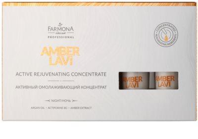 Farmona Amber Lavi Aktiv-Serum für die Nacht mit Verjüngungs-Effekt 3