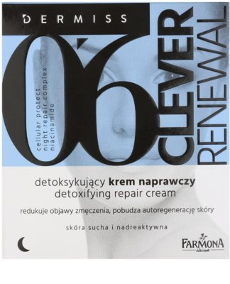 Farmona Dermiss Renewal Detox-Nachtcreme zur Erneuerung der Hautoberfläche 2