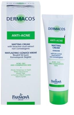 Farmona Dermacos Anti-Acne matující denní krém 1