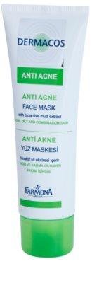 Farmona Dermacos Anti-Acne mascarilla facial con caolín