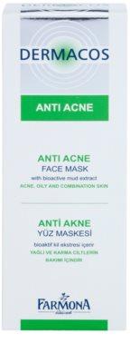 Farmona Dermacos Anti-Acne mascarilla facial con caolín 2