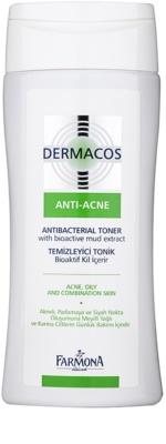 Farmona Dermacos Anti-Acne antibakterijski tonik za redukcijo razširjenih por