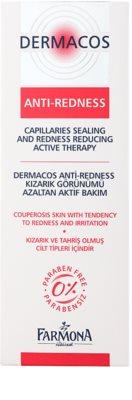 Farmona Dermacos Anti-Redness aktivní gelové sérum pro posílení jemných žilek zabraňující jejich praskání 2