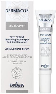 Farmona Dermacos Anti-Spot tonizáló szérum a pigmentfoltokra 1