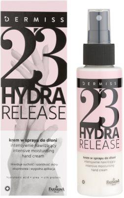 Farmona Dermiss Hydra Release krem nawilżający do rąk w sprayu 1