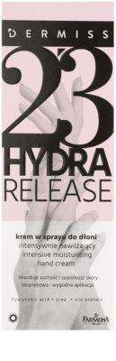 Farmona Dermiss Hydra Release krem nawilżający do rąk w sprayu 2