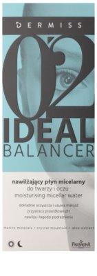 Farmona Dermiss Ideal Balancer agua micelar hidratante para rostro y ojos 2