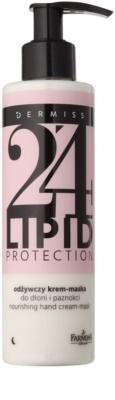 Farmona Dermiss Lipid Protection crema - masca nutritiva de noapte pentru maini si unghii