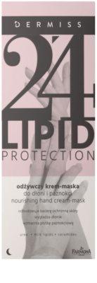 Farmona Dermiss Lipid Protection нічний поживний крем-маска для рук та нігтів 2