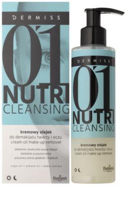 Farmona Dermiss Nutri Cleansing Abschminköl für Gesicht und Augen 1