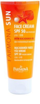 Farmona Sun захисний крем для нормальної та сухої шкіри SPF 50