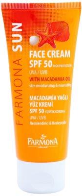 Farmona Sun creme protetor para pele normal e mista SPF 50