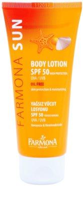Farmona Sun zaščitni losjon za sončenje SPF 50